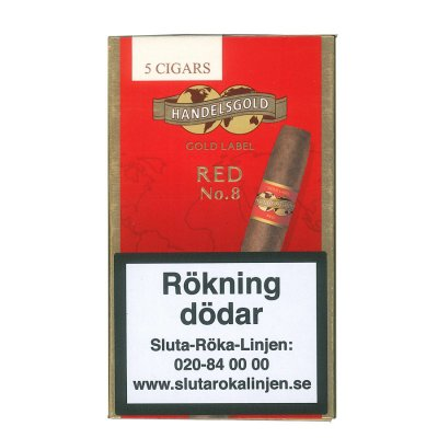Handelsgold No. 8 Red paket