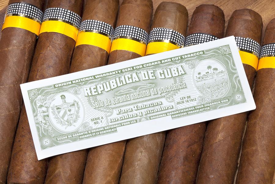 Äkthetskontroll av kubanska cigarrer